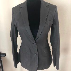 Rag & Bone Blazer Fitted Dark Gray - Olive Size 6